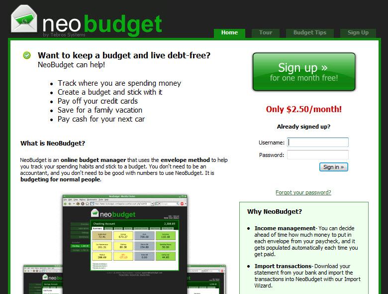 neobudget review