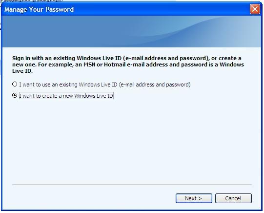 lost my microsoft money password